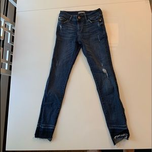 girls size 10 DL jeans